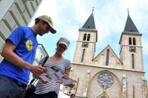 turizam, turisti, Sarajevo