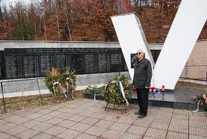Spomenik poginulim bosanskim Hrvatima u Križančevom selu, Foto: Ajdin Kamber