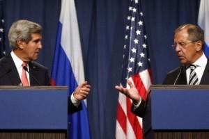 John Kerry,  Sergej Lavrov