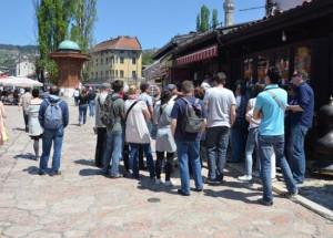 Sarajevo, turisti