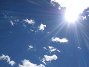 sunčano, vrijeme