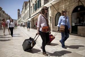 turisti, Hrvatska