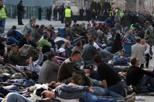 borci, BiH, protesti