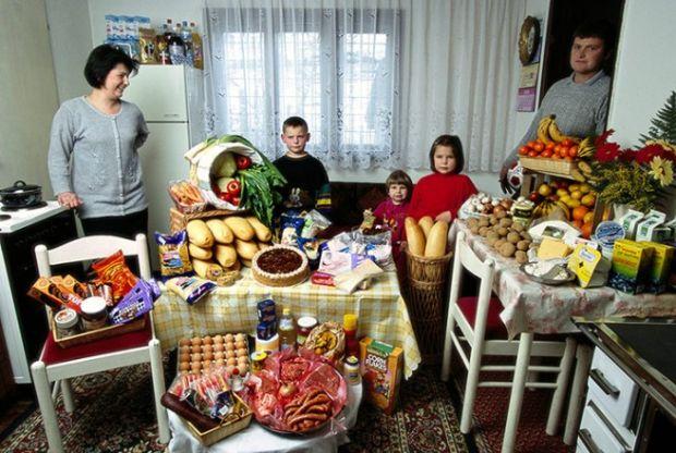 Porodica Dudo iz Sarajeva sa sedmičnim šopingom namirnica od £107