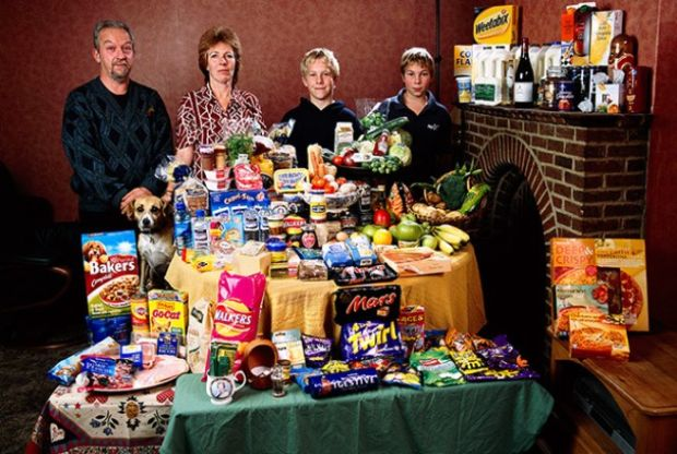 Porodica iz Velike Britanije koja troši oko £160 sedmično