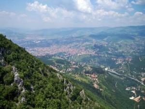 Sarajevo, Trebević, žičara