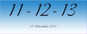 11. 12. '13