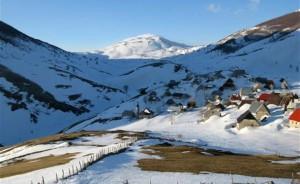 Lukomir, Bjelašnica, zima, snijeg