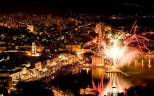 Riva, Split, Nova godina, 2014