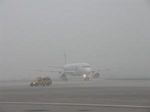 Sarajevo, aerodrom, magla
