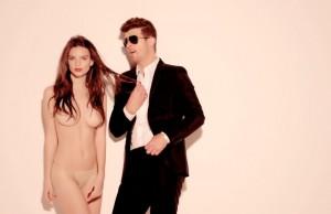 Justin Timberlake Blurred Lines