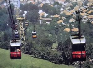 Trebević, žičara, Sarajevo