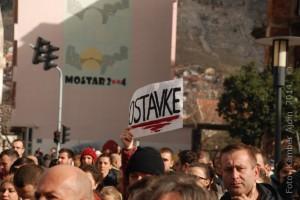Mostar, demonstracije