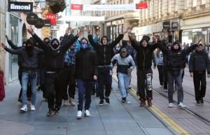Zagreb, protesti
