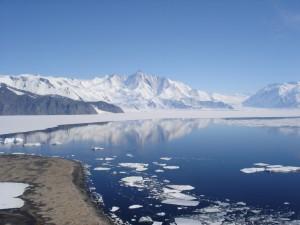 Antarktika, led