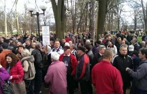 Banja Luka, protesti, borci