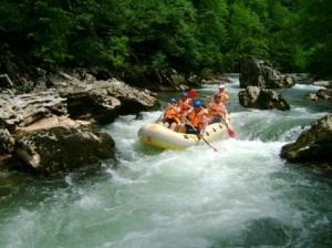 Krivaja, rafting