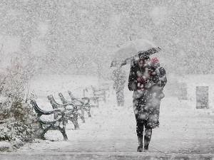 Makedonija, snijeg