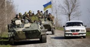 Ukrajina, rat