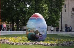 Uskrs, Zagreb, jaja