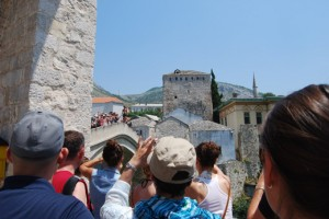 turisti, Mostar