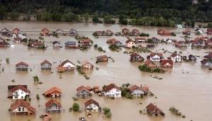 Šamac, poplave