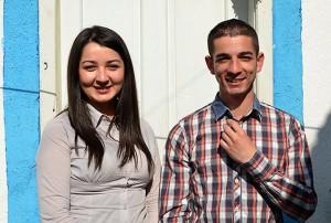 Aldina Fafulović i njen brat Aldin