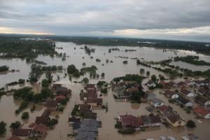Bosanski Šamac, poplave