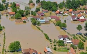 Orašje, poplave