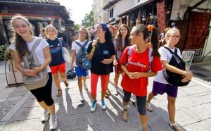 turisti, Sarajevo