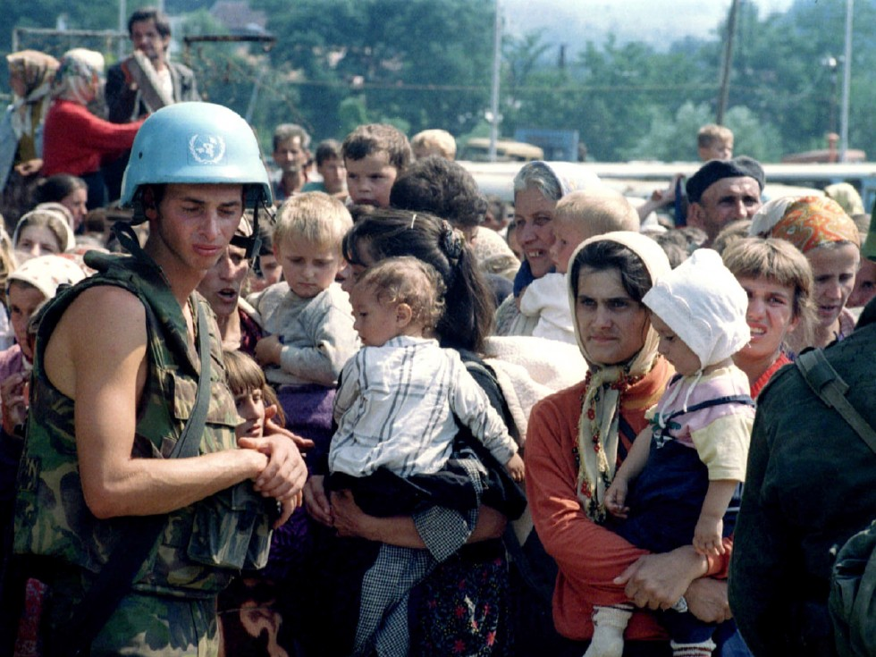 UN, Holandija, Srebrenica