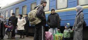 izbjeglice, Ukrajina