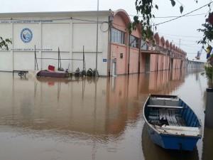 poplava, fabrika
