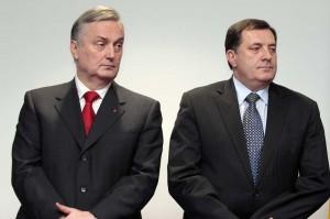 Milorad Dodik, Zlatko Lagumdžija,