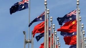 Australija, Kina