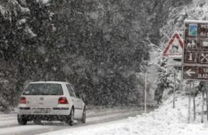 zima, ceste
