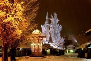 Nova godina, Sarajevo