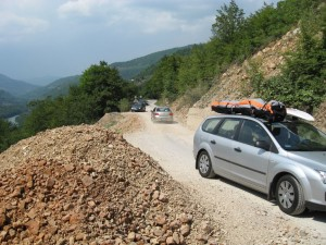 Foča, cesta