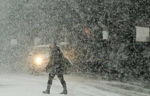 snijeg, Bihać