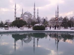 snijeg, Istanbul