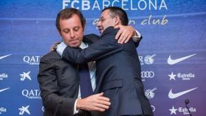 Barcelona Josep Bartomeu Sandro Rosell
