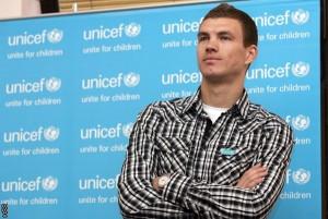 Edin Džeko,UNICEF
