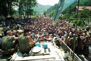 Srebrenica, UN