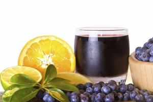 borovnica  sok