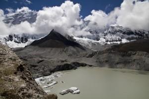 Mont Everest, jezero