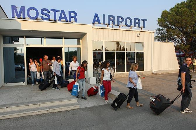 aerodrom, Mostar