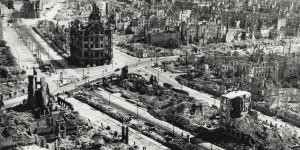 Drezden nakon bombardovanja