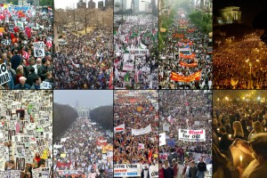 Protesti protiv rata u Iraku