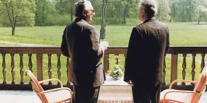 Franjo Tuđman i Slobodan Milošević