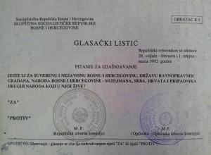 referendum o nezavisnosti BiH